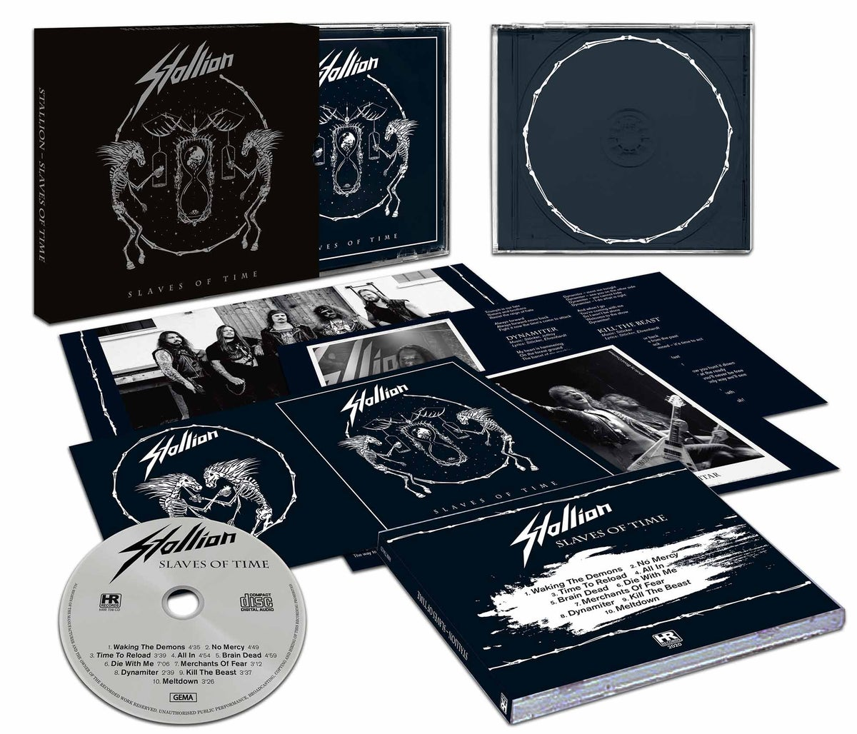 Slaves of Time - Slipcase CD (Regular and Corona Supporter - Price)