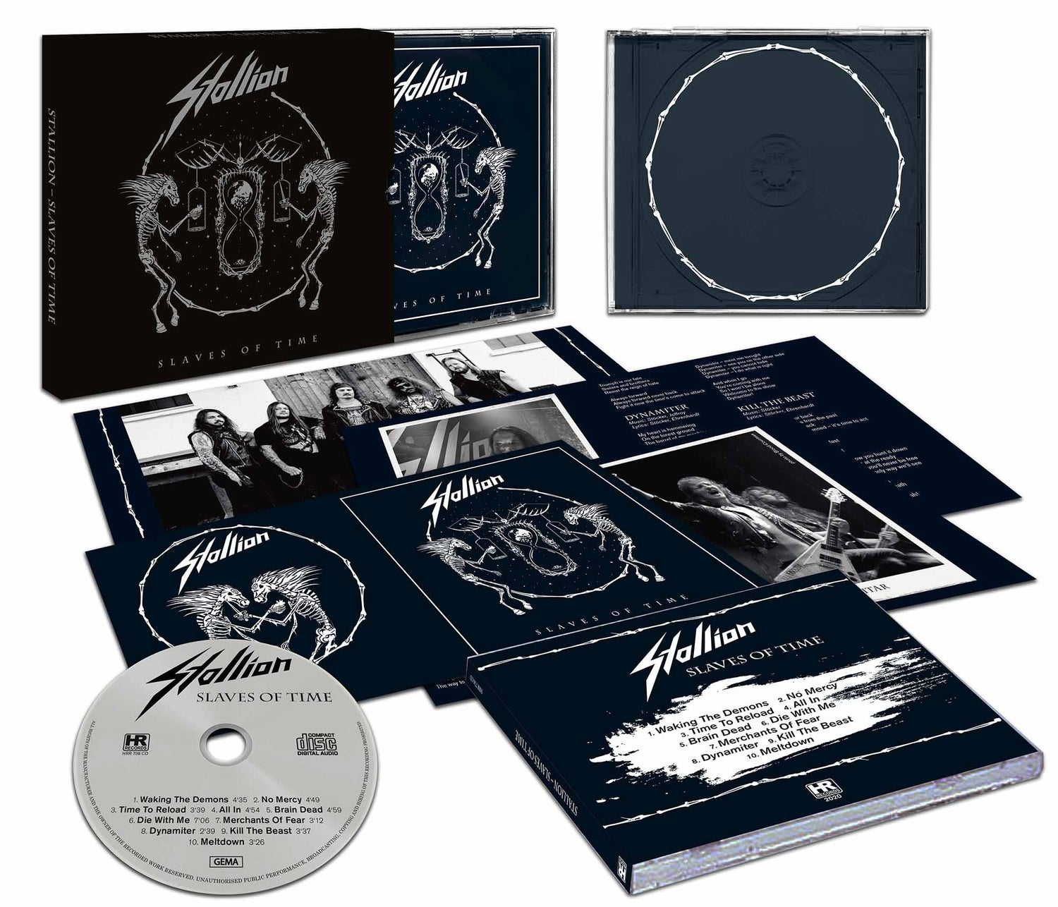 Image of Slaves of Time - Slipcase CD (PreOrder - getting shipped on February 27th)