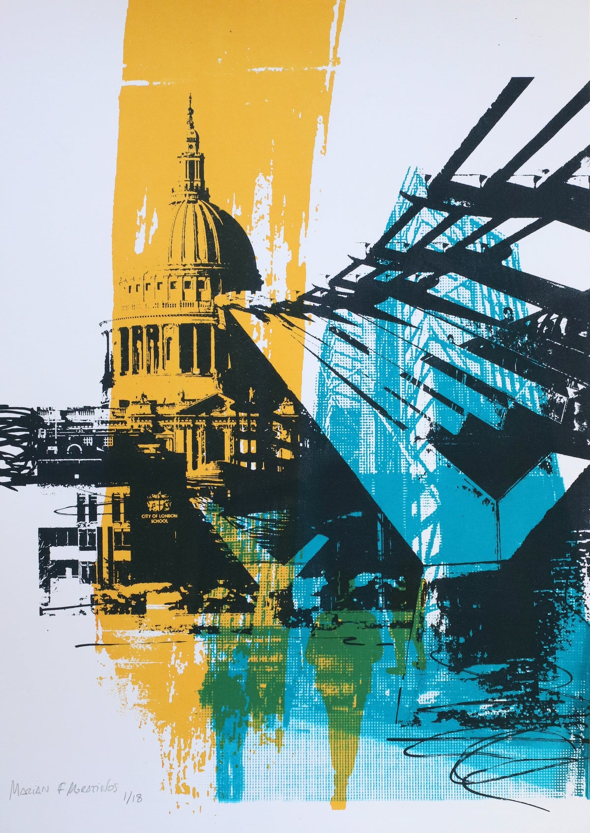 Image of Saint Pauls & Millenium Bridge
