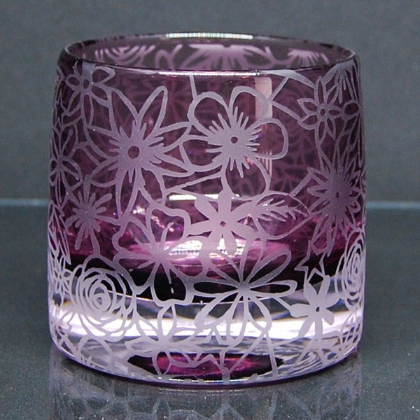 Image of Heather tealight holder with papercut design
