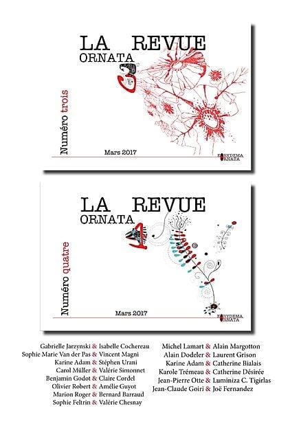 Image of La revue Ornata N° 4 & N° 3 -- Derniers exemplaires