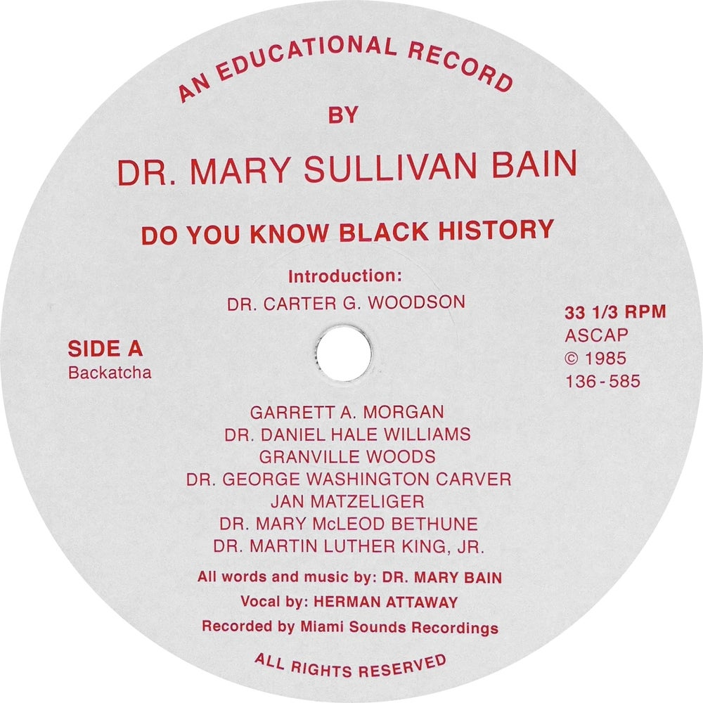 Image of SOLD OUT Dr Mary Sullivan Bain