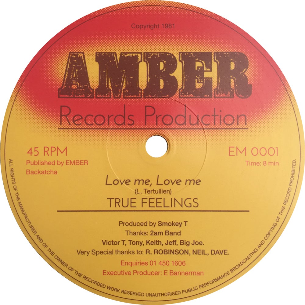Image of SOLD OUT True Feelings 'Love Me, Love Me'