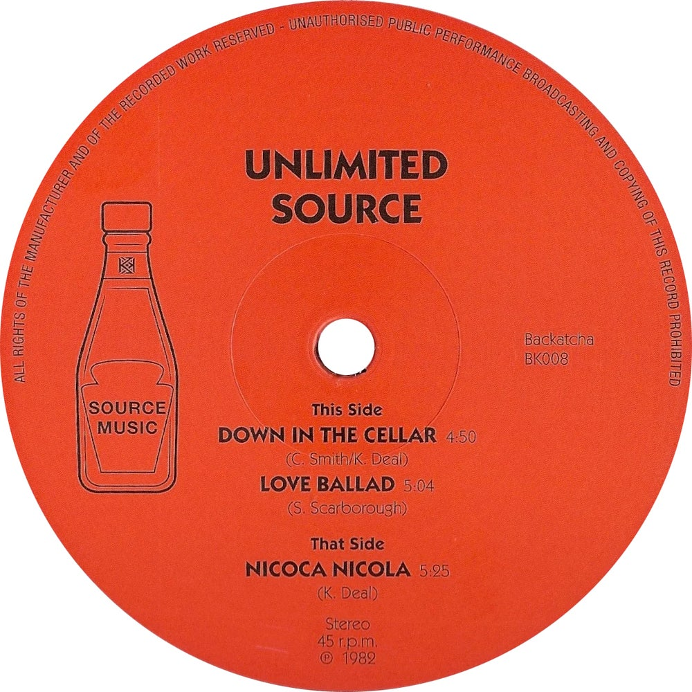 Image of SOLD OUT Unlimited Source EP