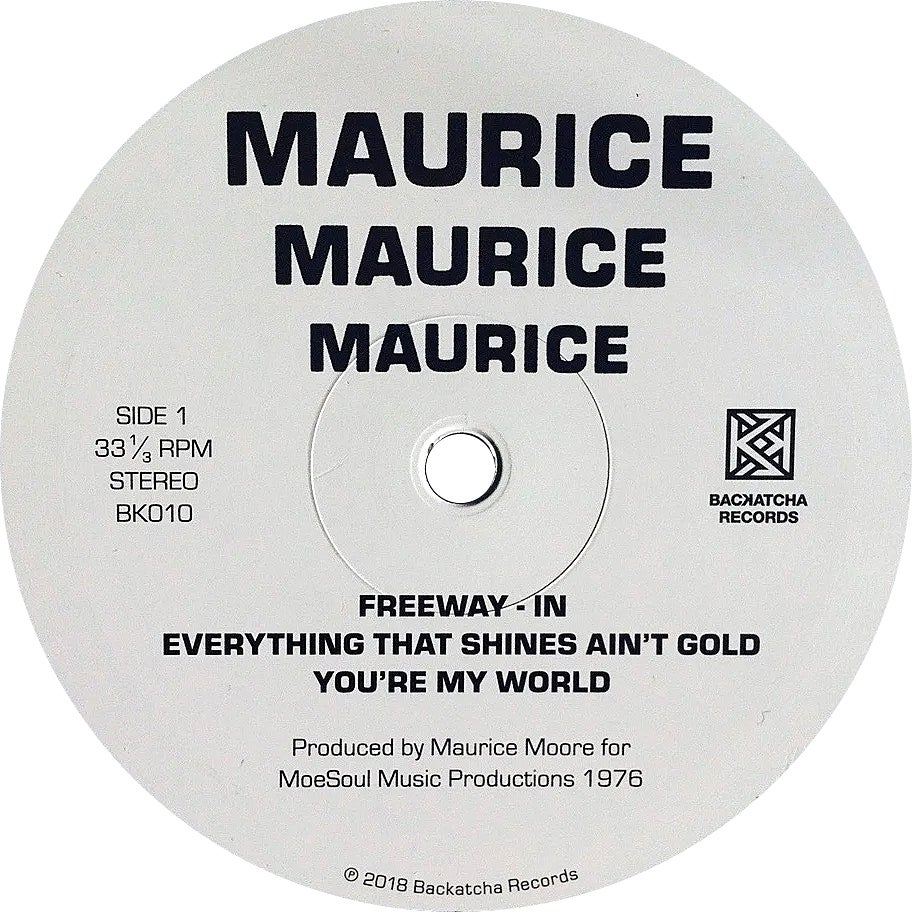 Image of SOLD OUT Maurice Moore LP