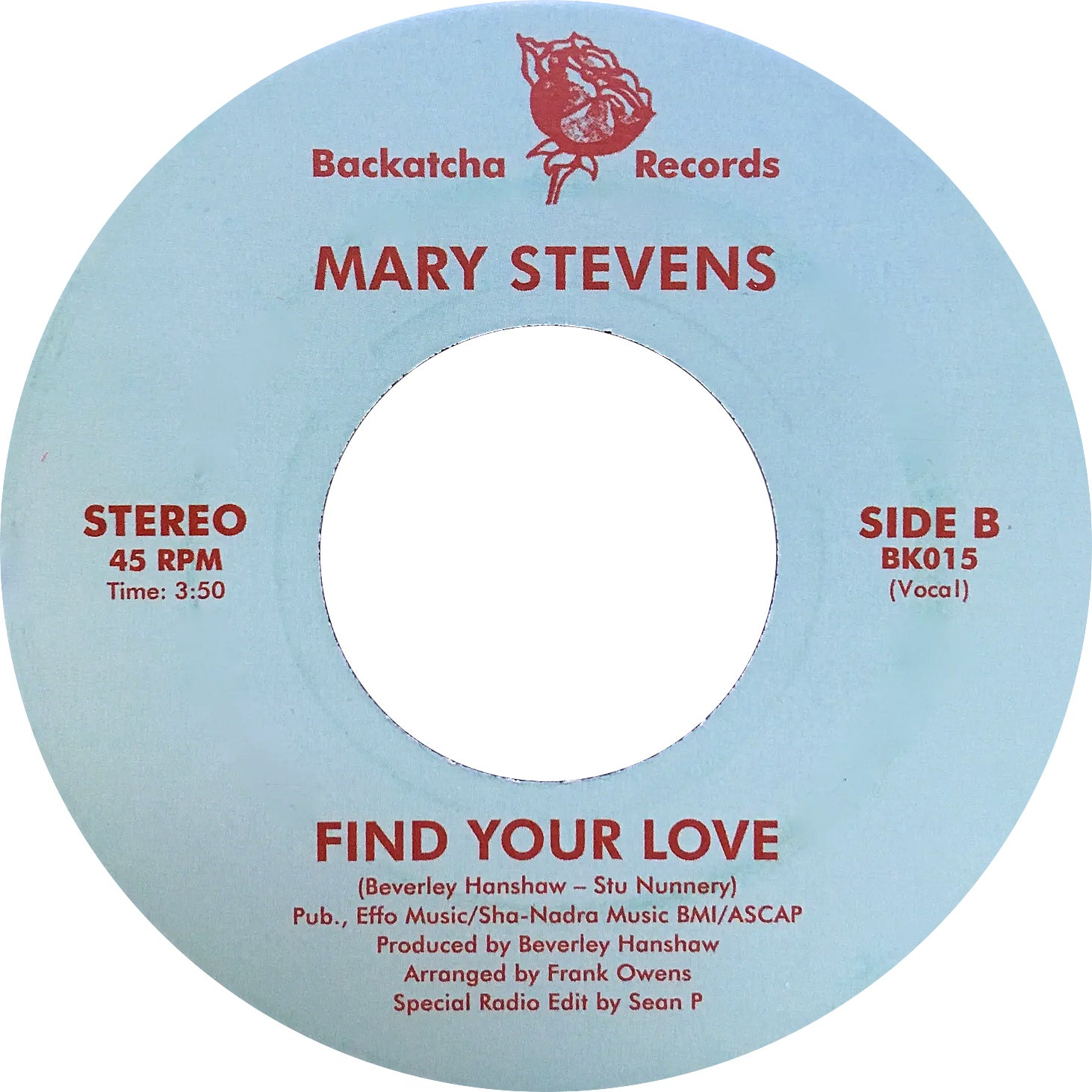 Image of SOLD OUT Mary Stevens - BOYD JARVIS & TIMMY REGISFORD REMIX