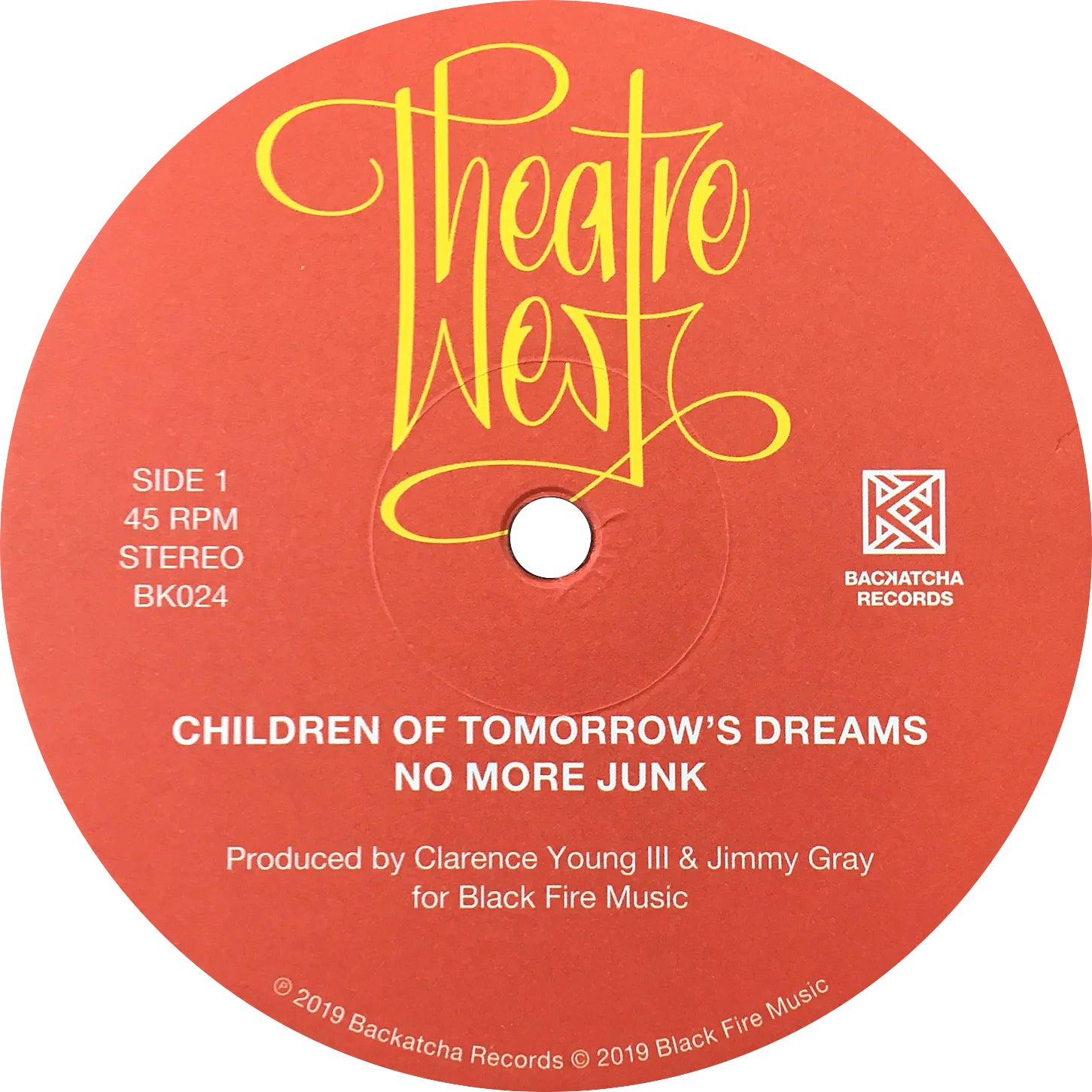 "Image of Theatre West Limited 12"" EP"