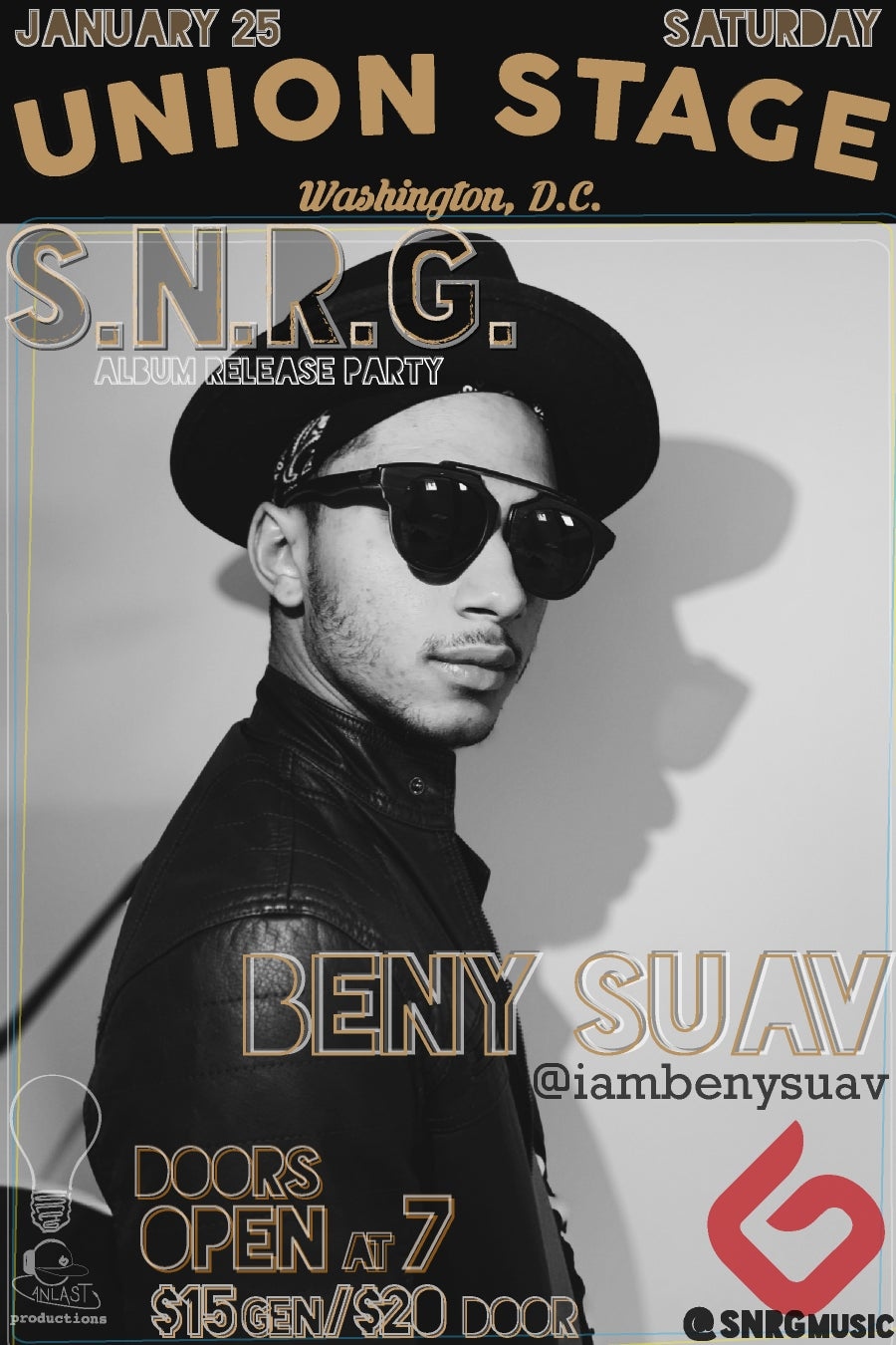 Image of BENY SUAV DISCOUNTED TICKETS