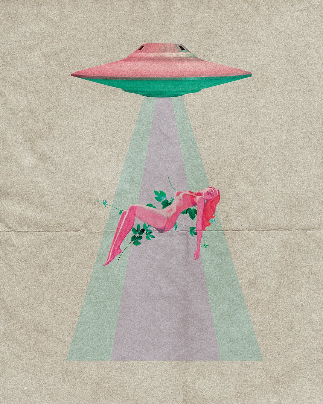 Image of Abduction Art Print