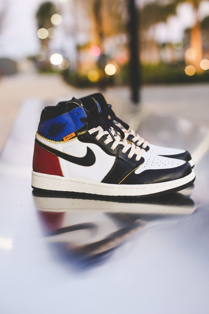 Image of Union 1 x Black toe/Royal