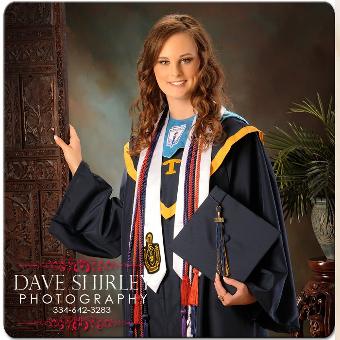 Image of Cap and Gown Portraits