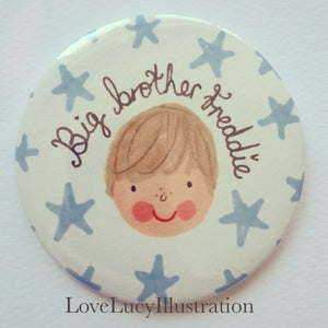 Image of Personalised Big Brother Badge