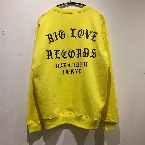 Image of BIG LOVE CLASSIC LOGO 2020 SWEAT SHIRT