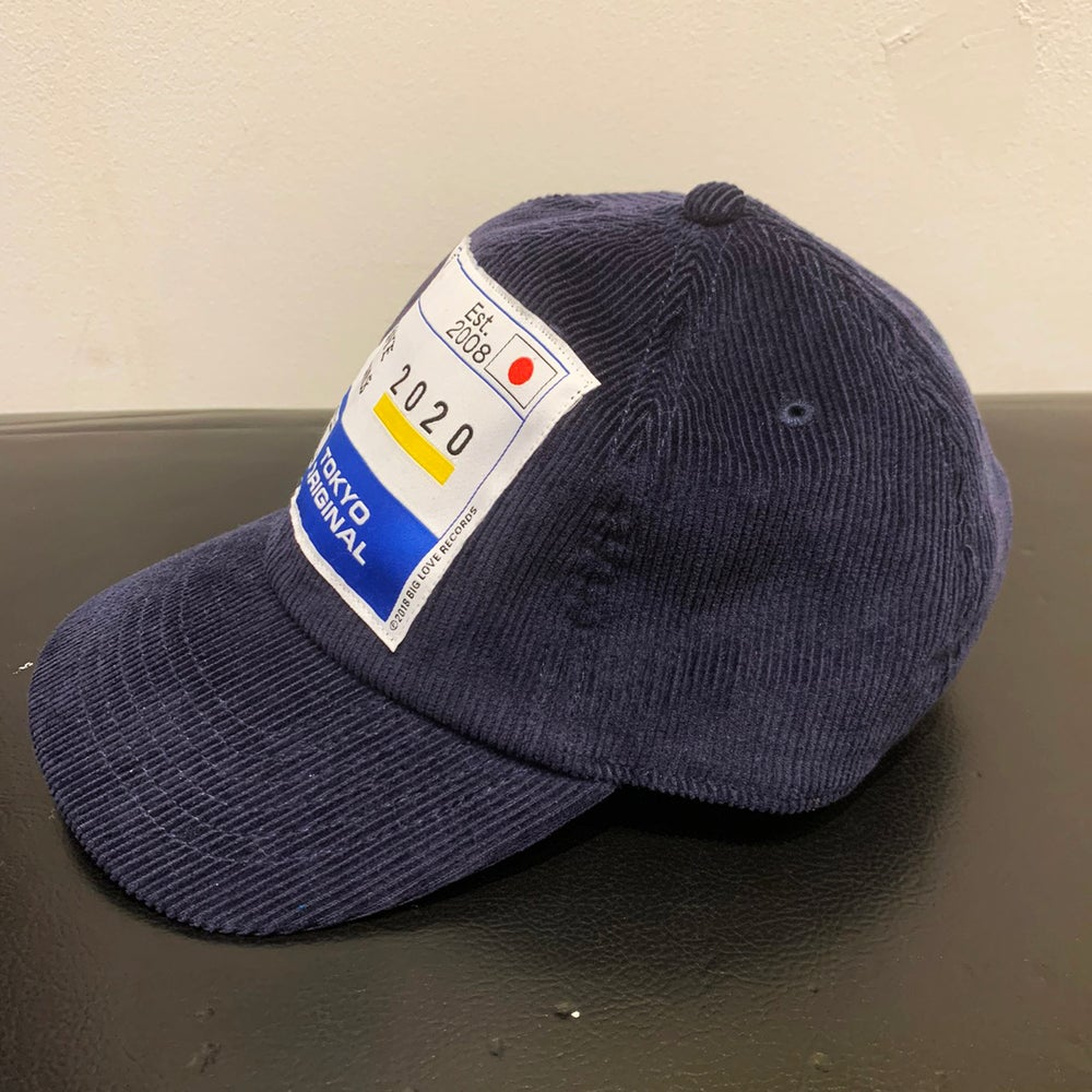 Image of 2020 TOKYO ORIGINAL -CORDUROY NAVY- CAP