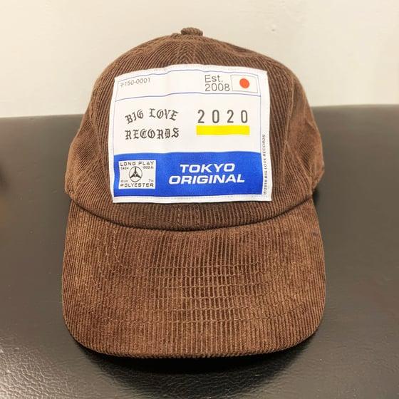 Image of 2020 TOKYO ORIGINAL -CORDUROY TAN- CAP