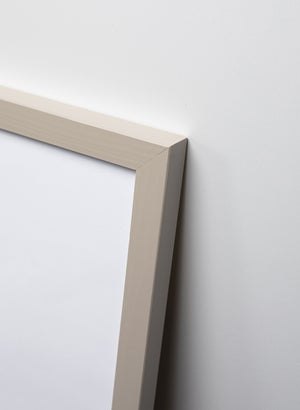 Image of Grey painted oak frame