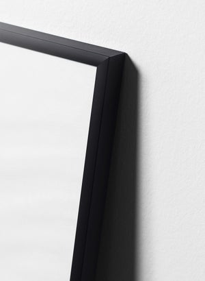 Image of Black aluminium frame