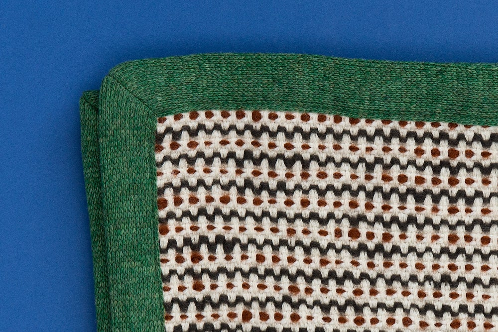 Image of PLAID / WOOL AND ANGORA BLANKET