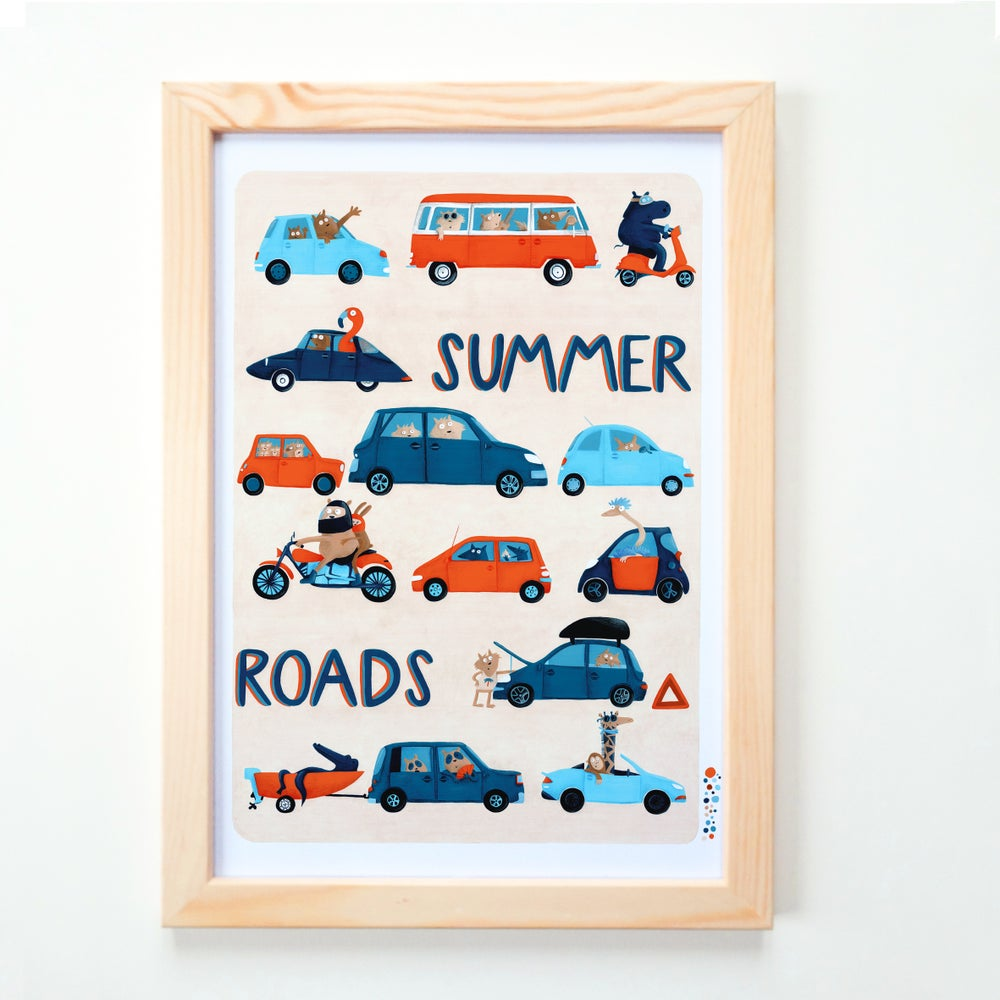 Image of Summer road