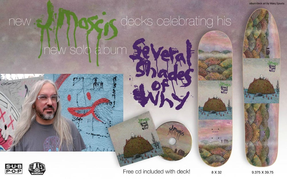 TABLA ALIEN JMASCIS SEVERAL SHADES OF WHY LONGBOARD X COLLECTORS