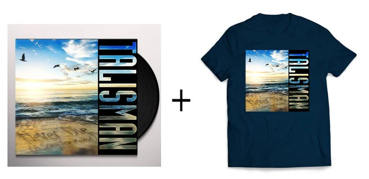 "Image of Talisman - Never Die (A Song For Marcel) T- Shirt & 7"" vinyl - bundle"