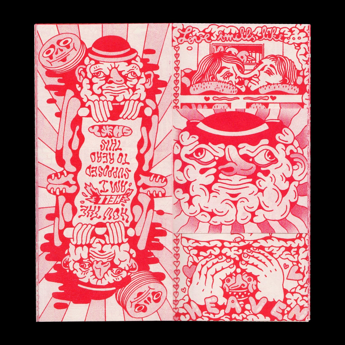 Image of La Vie 100 Soucis RED Edition