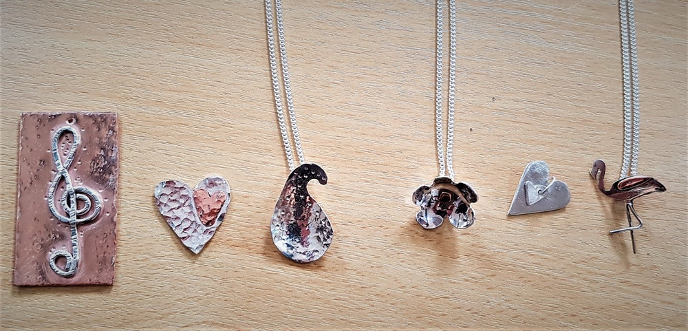 Image of Silver & Copper Pendant Making Workshop - Fri 15th May, Trowbridge