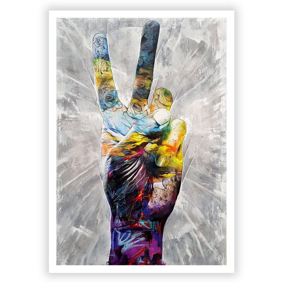 Image of Bring Peace To The Party - SIGNED OPEN EDITION PRINT - FREE WORLDWIDE SHIPPING!!!