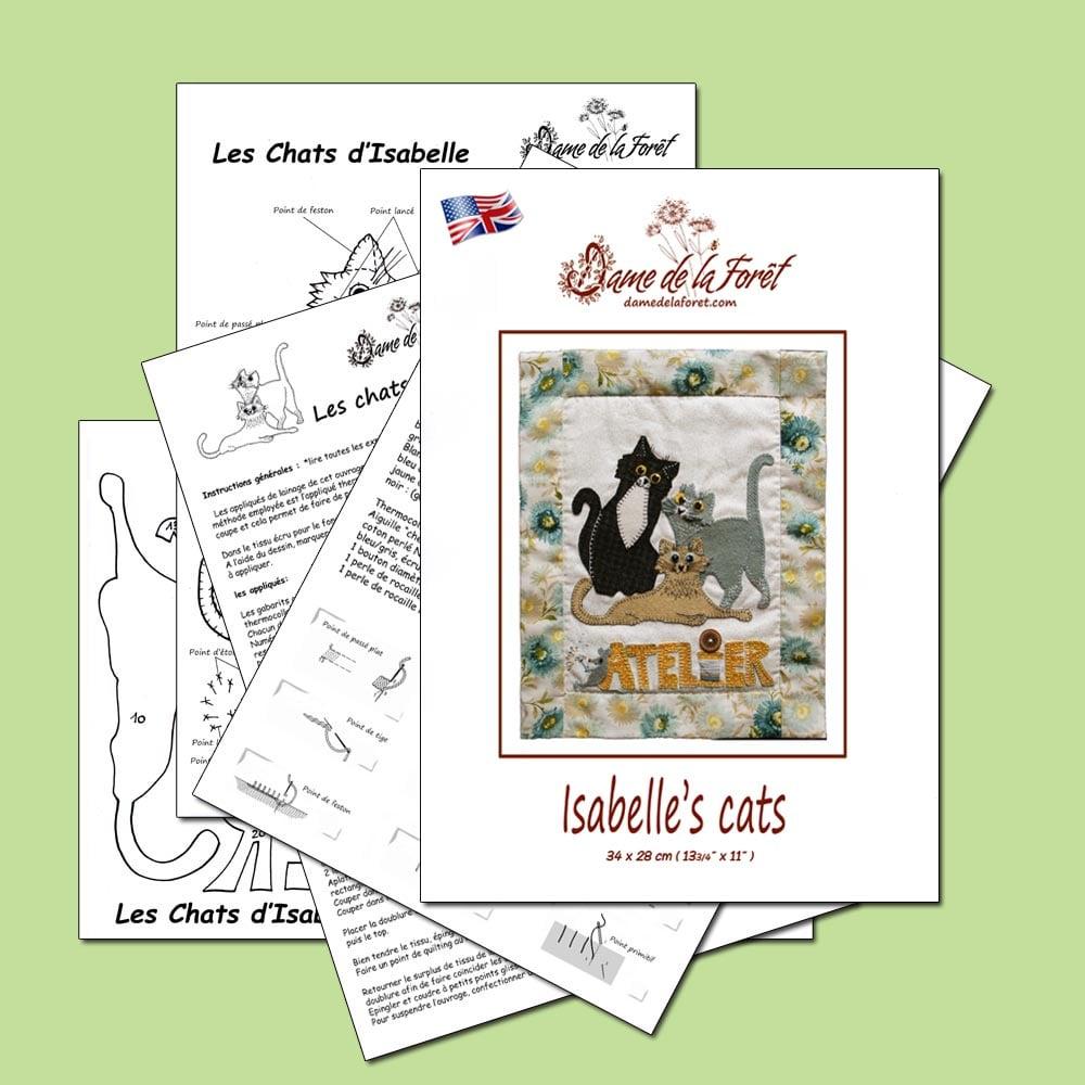 Image de Isabelle's Cats PDF dame de la forêt