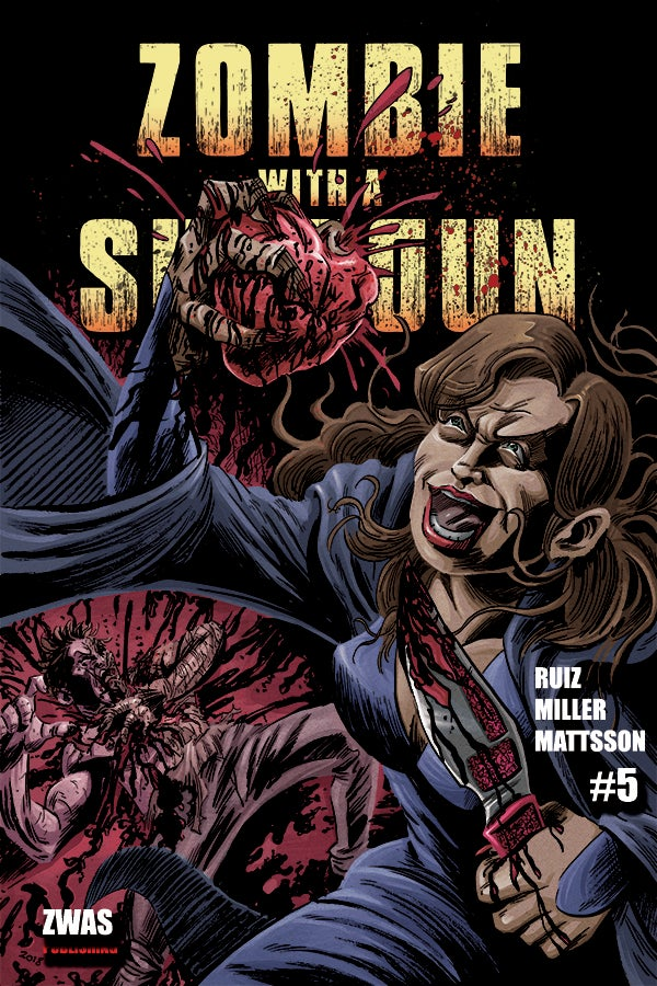 Image of Zombie with a Shotgun Comic Issue #5