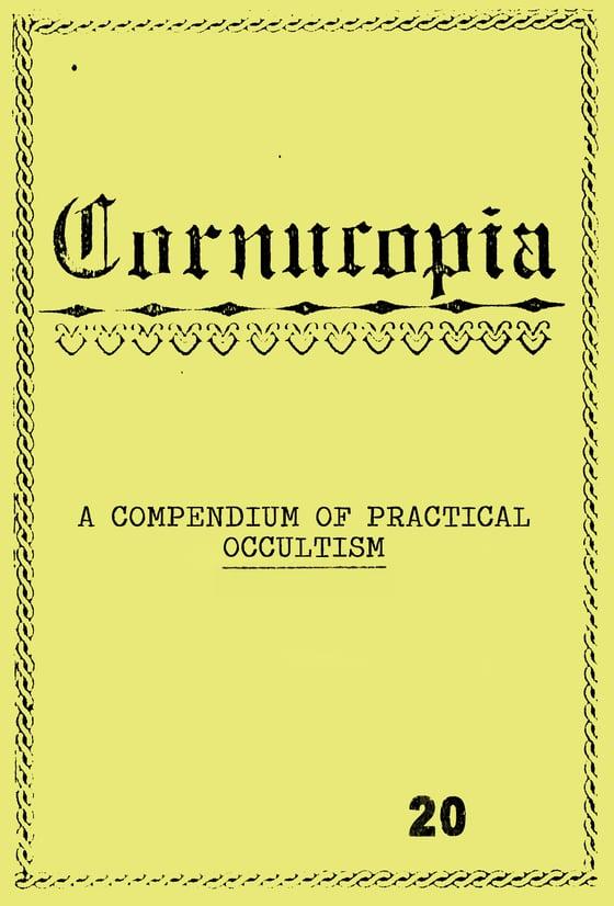 Image of Cornucopia - A Compendium of Practical Occultism