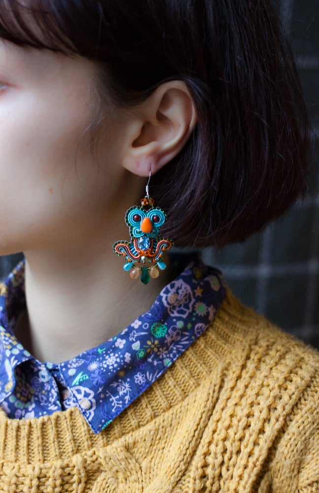 Image of Deli Earrings - Ancient Myths