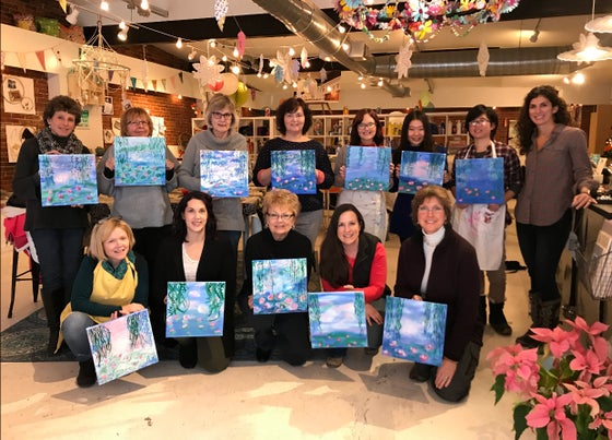 Image of Sip and Paint Private Parties