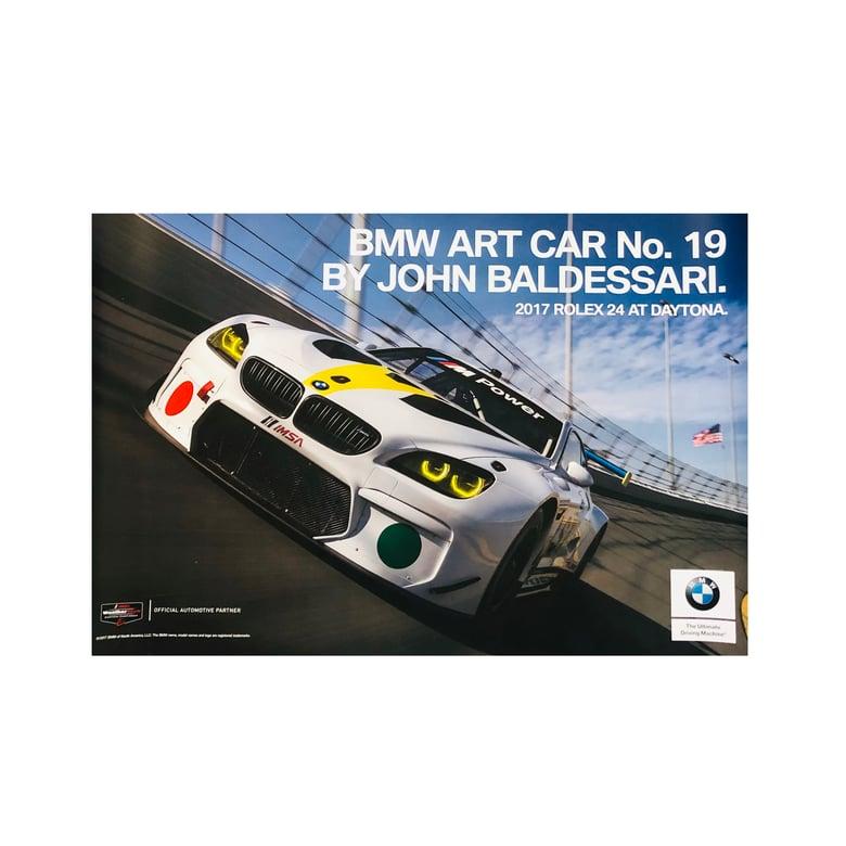 Image of BMW Art Car No. 19 by John Baldessari Poster