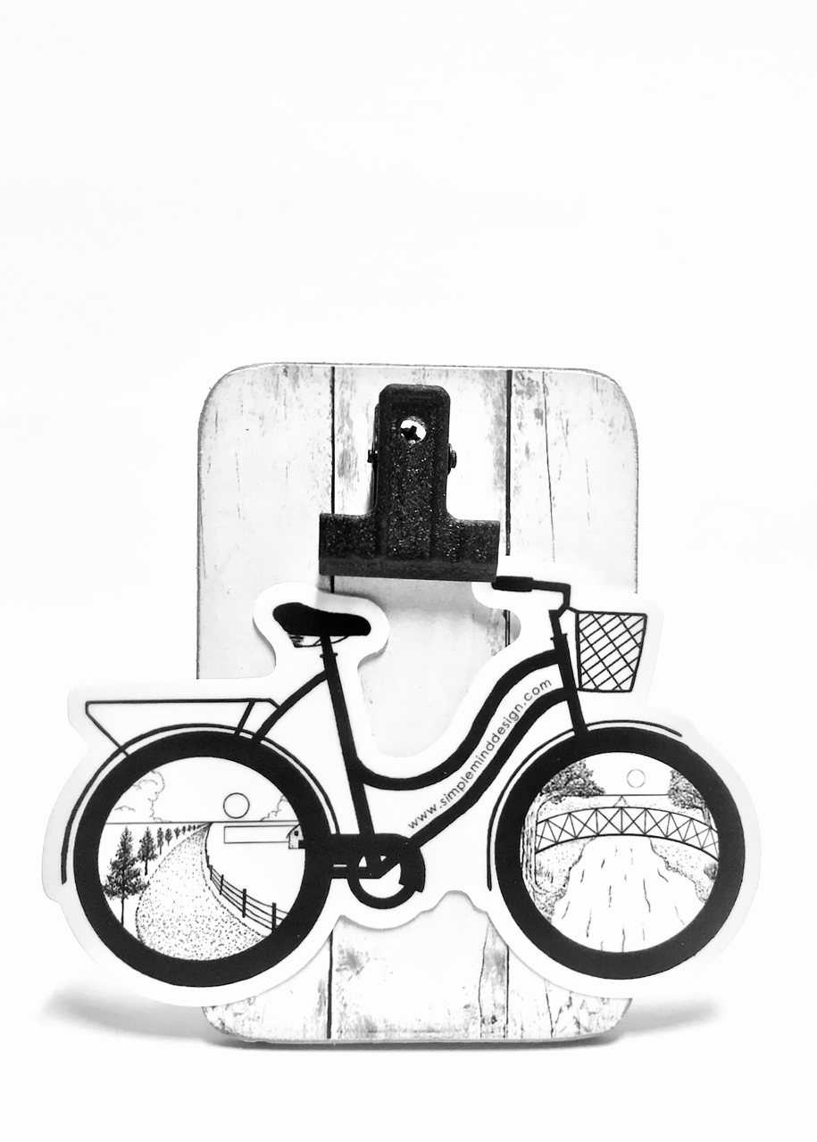 Image of Cruiser Bike Sticker