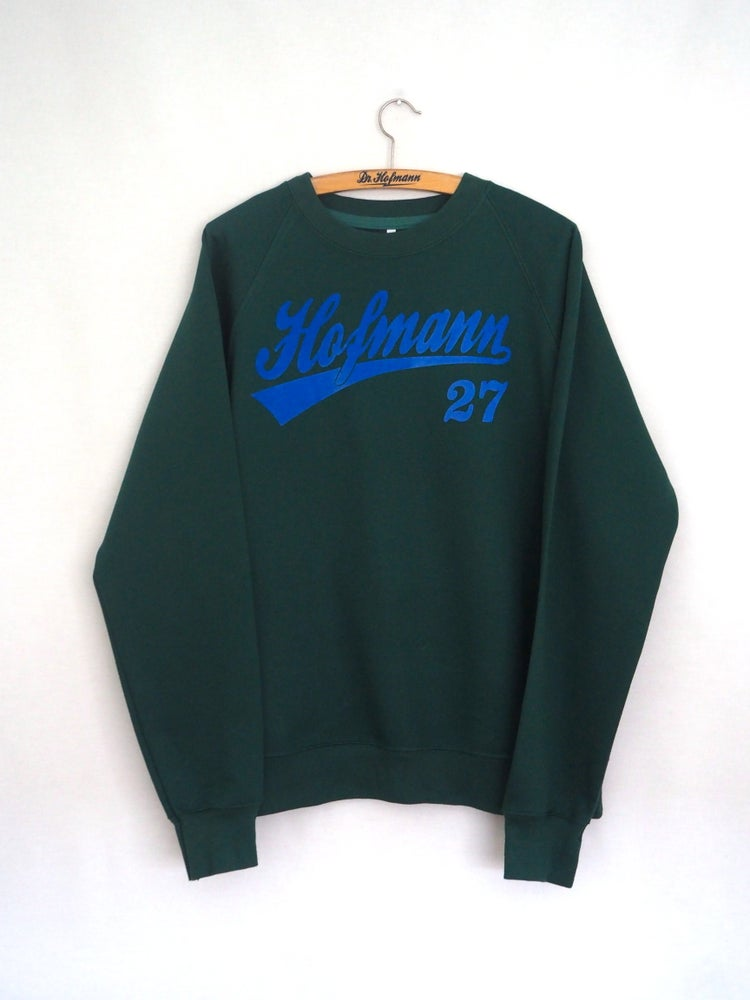 Image of Sudadera Baseball Verde Botella