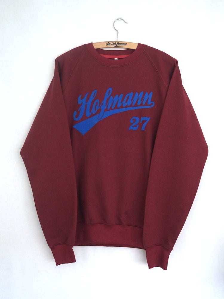 Image of Sudadera Baseball Granate