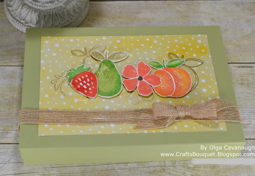 Image of Fruit Stand Stationary Gift Set