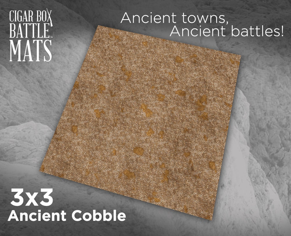 Image of Ancient Cobble -- 3' x 3' -- #900