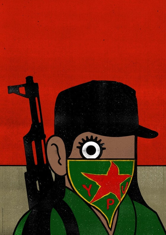 Image of Paul Insect Rojava Poster