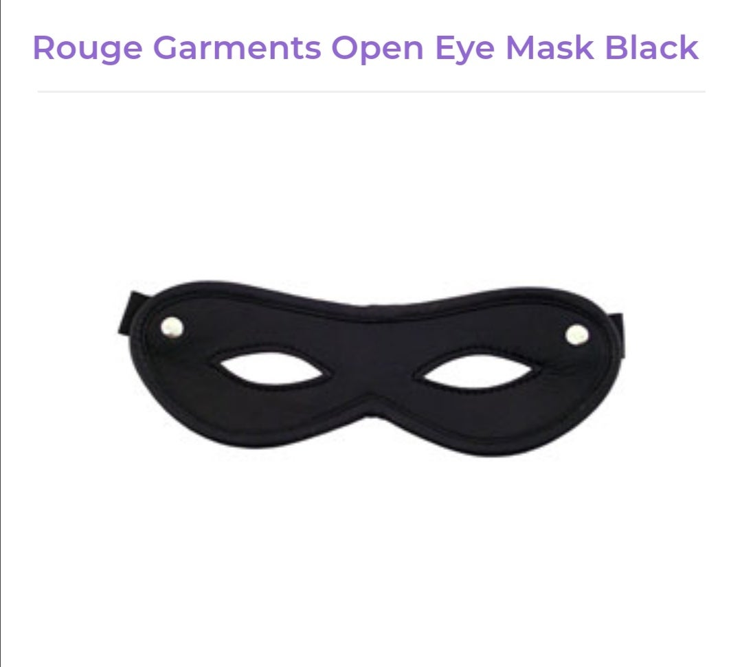 Image of Rouge Garments Open eye mask