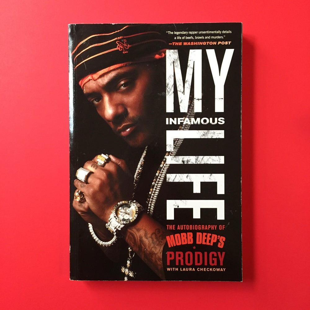 "Image of Prodigy ""My Life"" Softcover Book. The Autobiography of Prodigy (R.I.P.)"