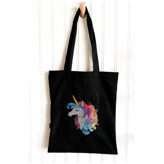 Image of Unicorn totebag