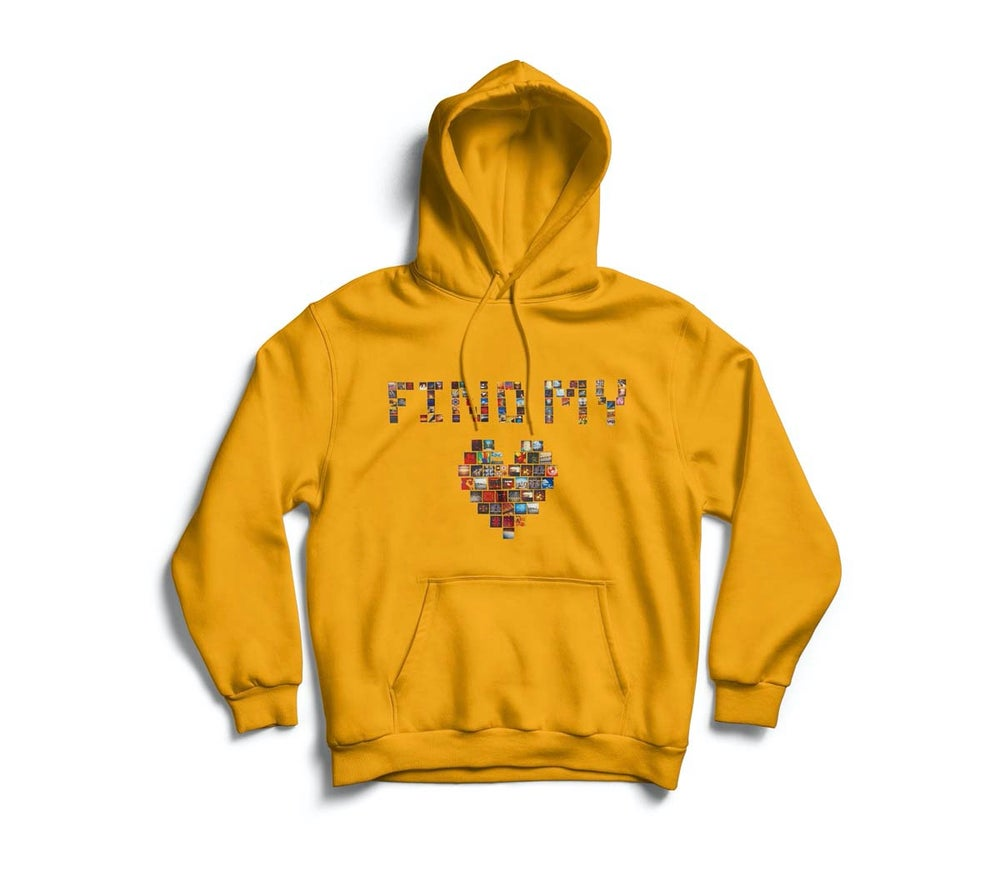 "Image of Gold ""Find My Love"" hoodie"