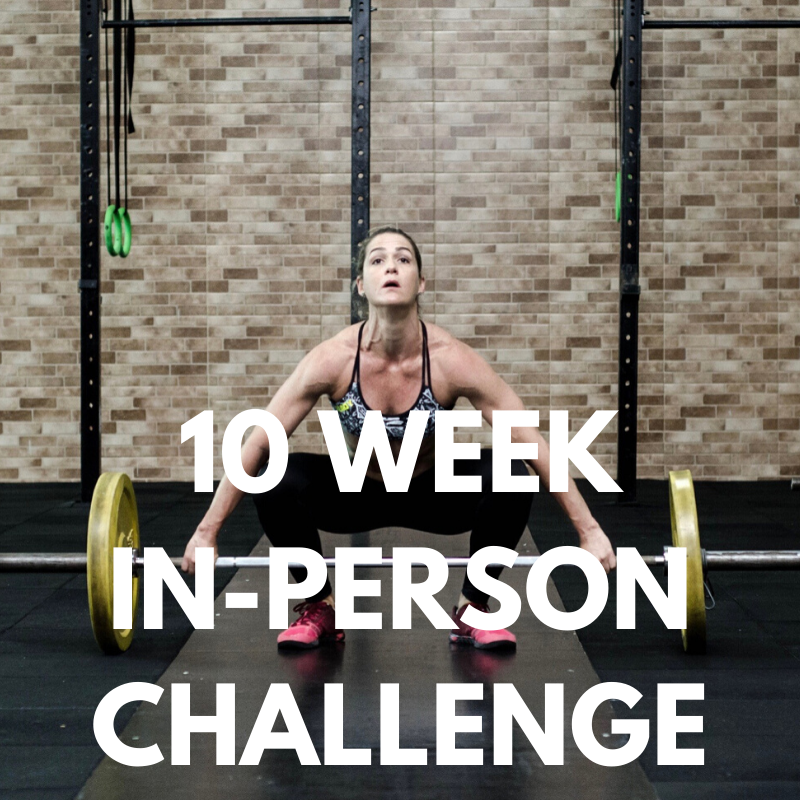 Image of 10 WEEK IN-PERSON TRANSFORMATION CHALLENGE