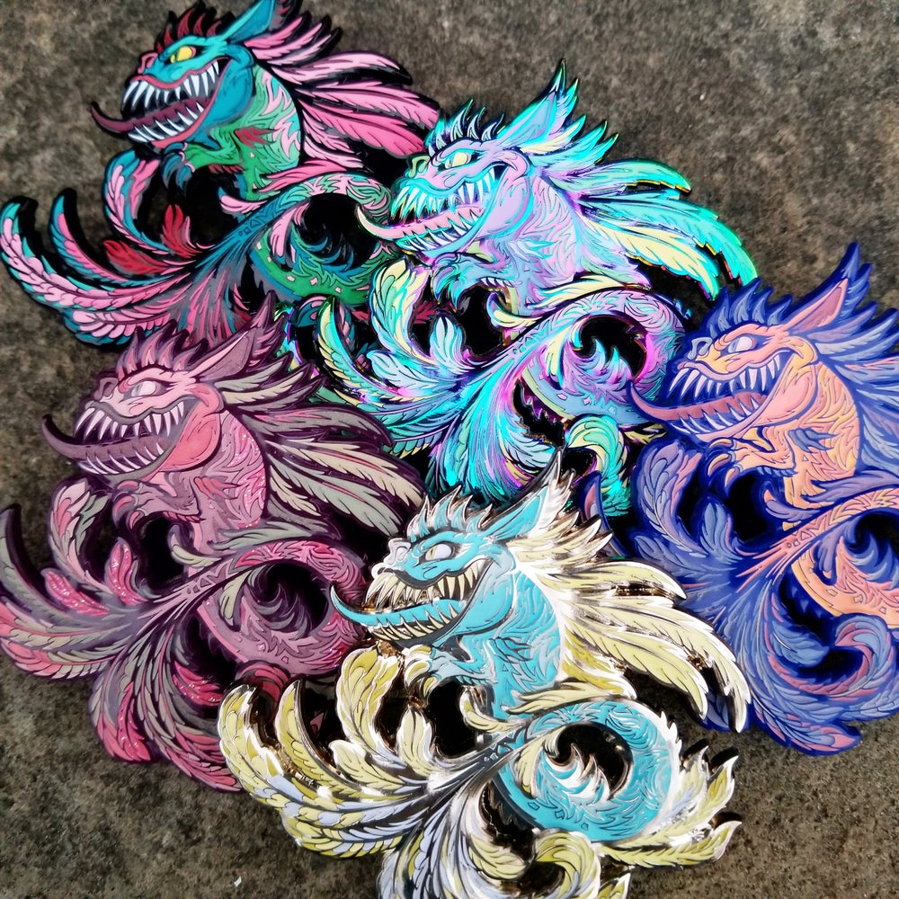 Image of Feathered Ophidian {5 piece set}