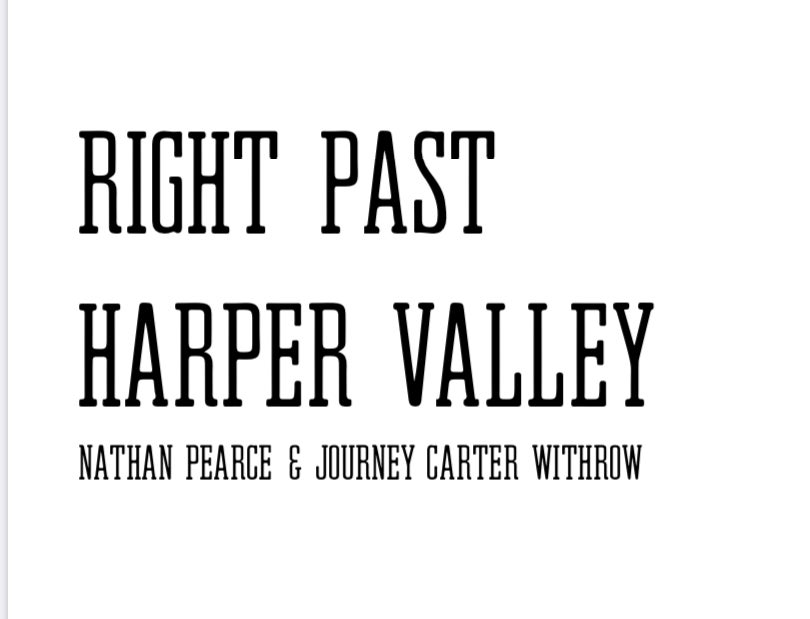 Image of Right Past Harper Vally