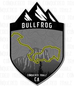 """Image of """"Bullfrog"""" Trail Badge"""