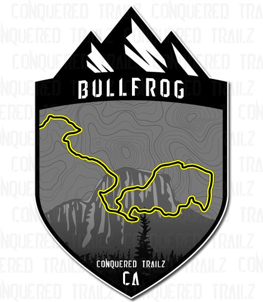 "Image of ""Bullfrog"" Trail Badge"