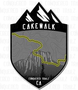 "Image of ""Cakewalk"" Trail Badge"